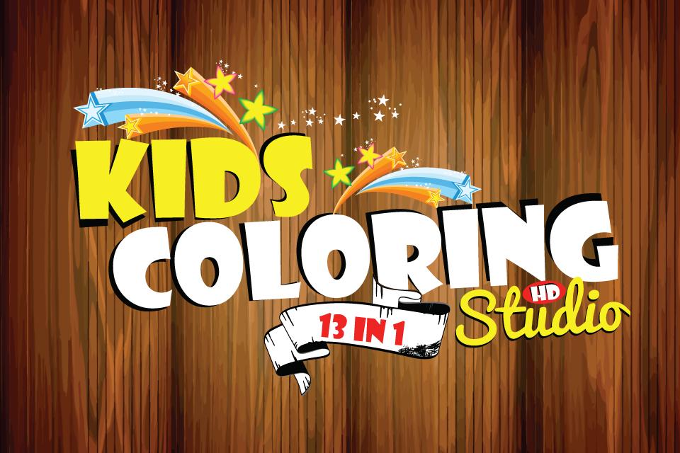 Screenshot Kids Coloring Studio HD